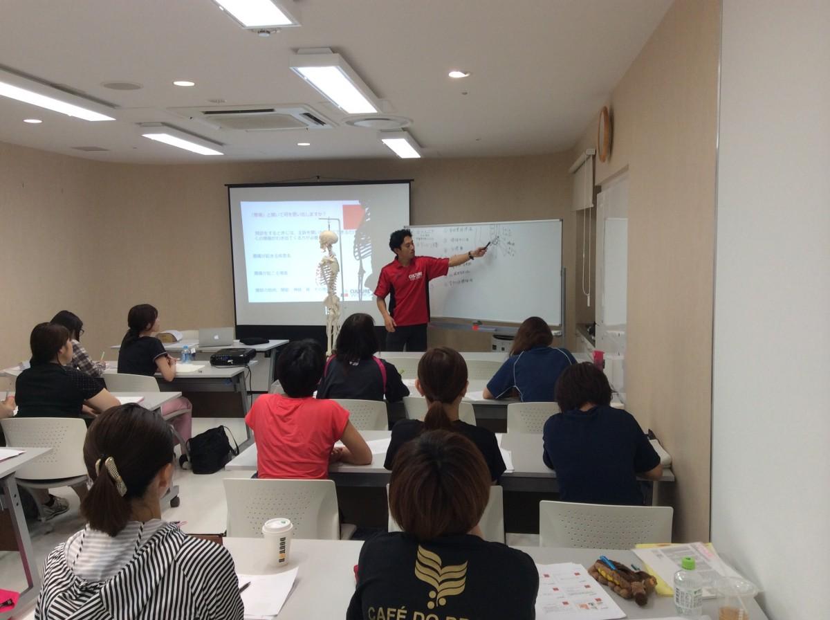 辻端大輔トレーナーによる講義