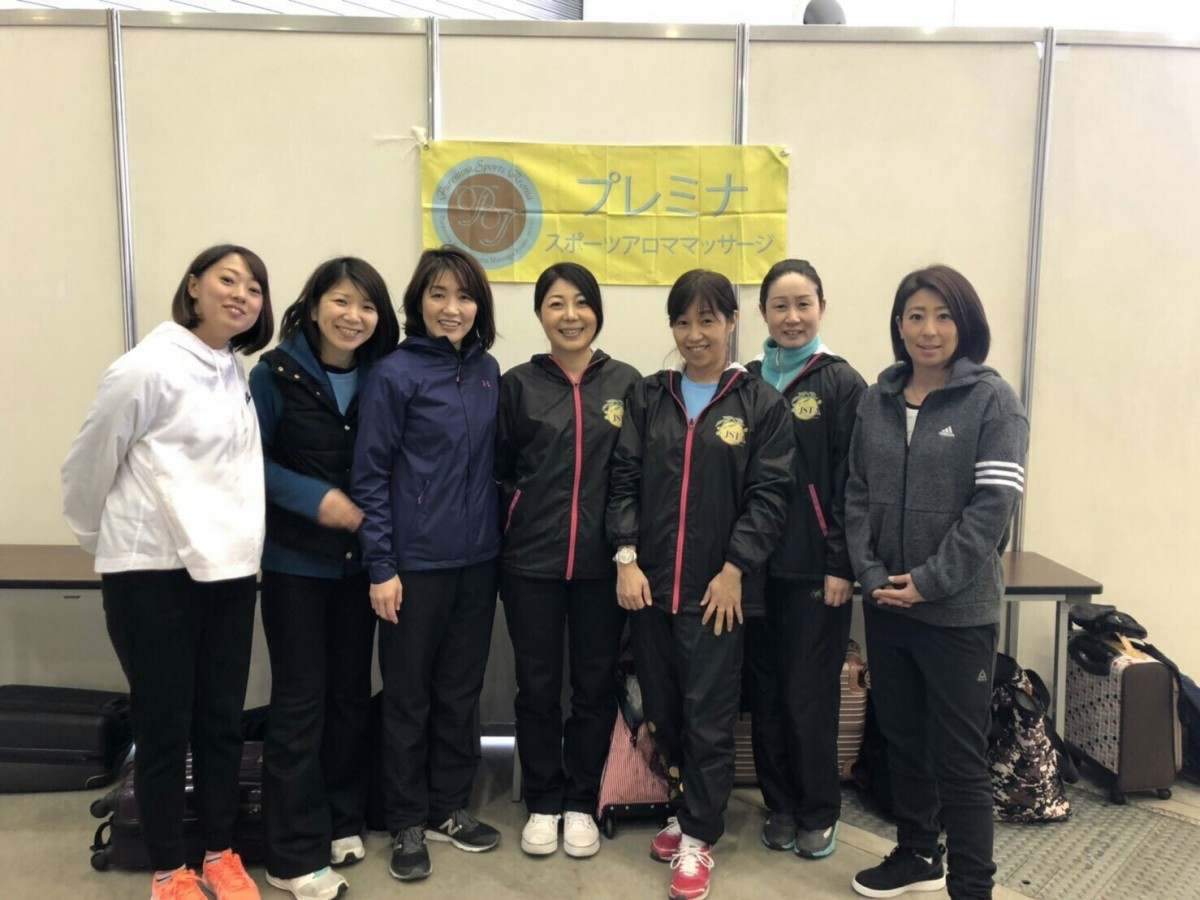 プレミナのスポーツアロマ活動 in 北九州