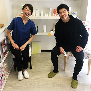 プロサッカー選手 泉宗太郎選手と再会